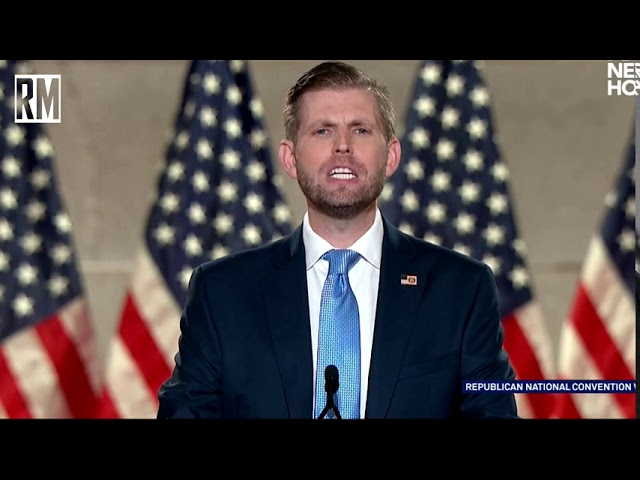Eric Trump Endorses Joe Biden