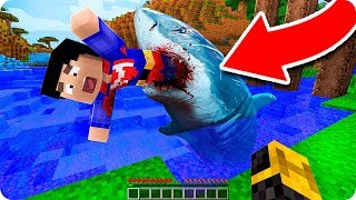 Un TiburÓn Se Come A Mi Amigo En Minecraft 😱