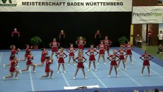 Six Shooters LadyGun Senior-Cheer