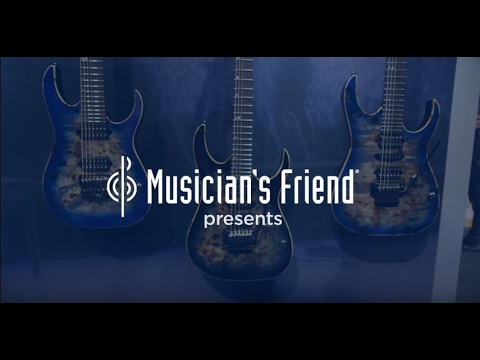 Ibanez RG Premium Series Electric Guitars - New From NAMM 2017