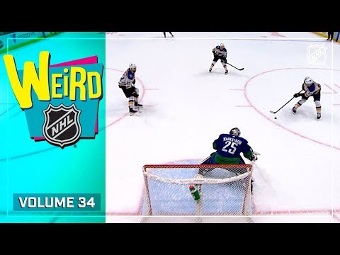 3-on-0, Lacrosse Moves & Mighty Mustaches | Weird NHL Vol. 34