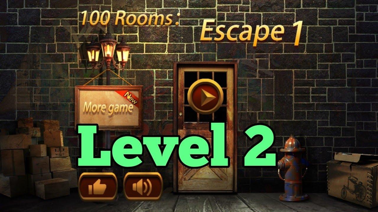 100 Rooms Escape 1 Level 2 Walkthrough Can You Escape The 100 Rooms