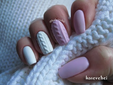 Manicure Hybrydowy 3d Cable Knit Sweater Sweterek Semilac 056
