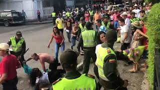 Violenta riña en plenas fiestas de Ibagué