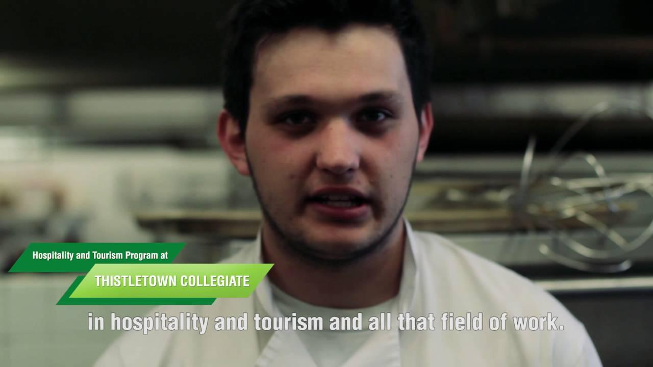 Thistletown Collegiate's Culinary Program
