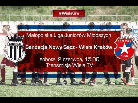 MLJM: Sandecja Nowy Sącz - Wisła Kraków