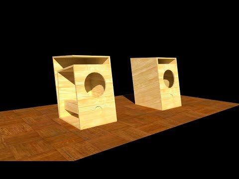 Membuat mini audio box speaker