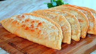 Empanadas de manjar de arroz|Masa de 3 ingredientes|Sin horno|Sin huevo