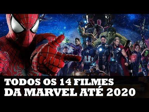 TODOS OS 14 FILMES DA MARVEL ATÉ 2020! | Nerd News #13