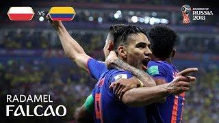 Radamel FALCAO Goal - Poland v Colombia - MATCH 31