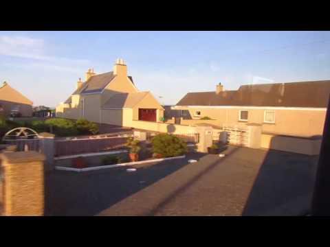 Kickdown!!! Route W5 Western Isles Council Cummins Optare Solo SR B153 (YJ14 BDY)