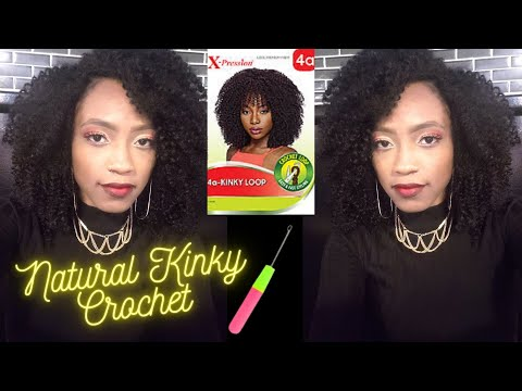 😍natural-curly-crochet-braids-|-xpression-4a-kinky-loop-|-invisible-part