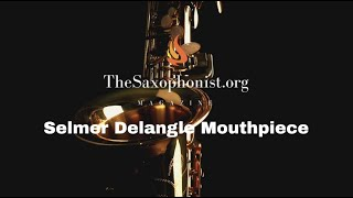 Product Review: Selmer Claude Delangle Mouthpiece