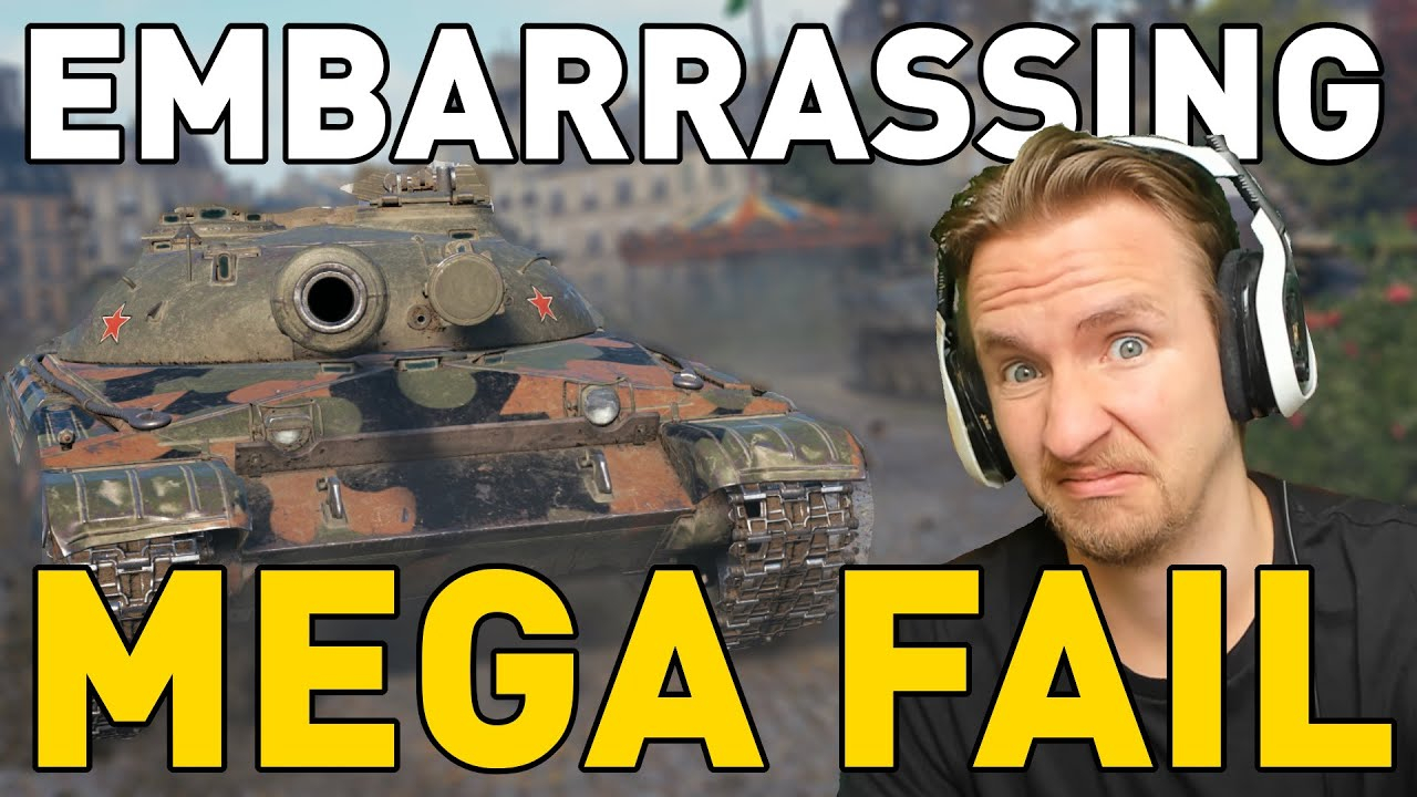 My Most EMBARRASSING Game in World of Tanks thumbnail