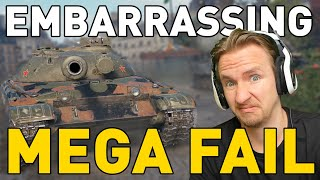 My Most EMBARRASSING Game in World of Tanks