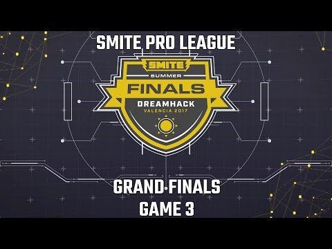 SMITE Pro League Summer Finals 2017: Grand Finals (Game 3)