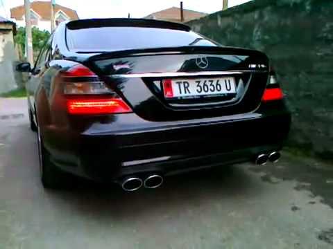Mercedes Benz S Klasse 65 Amg Albanian Exhausts Very Loud