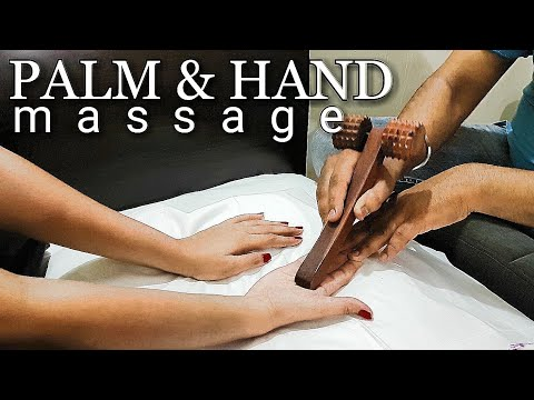 Asmr palm and hand massage (homemade)
