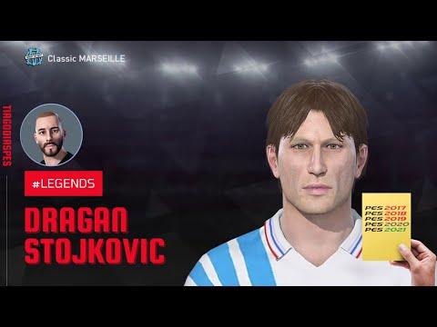Dragan Stojković Face