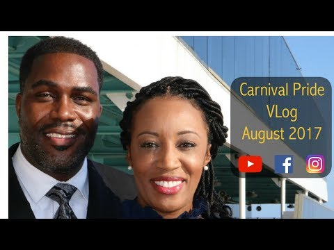 Carnival Pride Cruise - Vlog Aug 2017