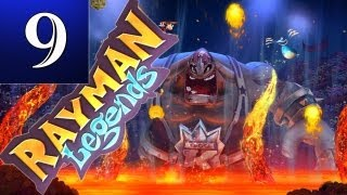 Repeat youtube video Rayman Legends - Part 9 - Fiesta de los Muertos (Lucha Libre Get Away, Wrestling with a Giant)