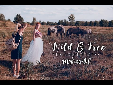 WILD AND FREE Shooting (Making-Of) | Gina-Marry