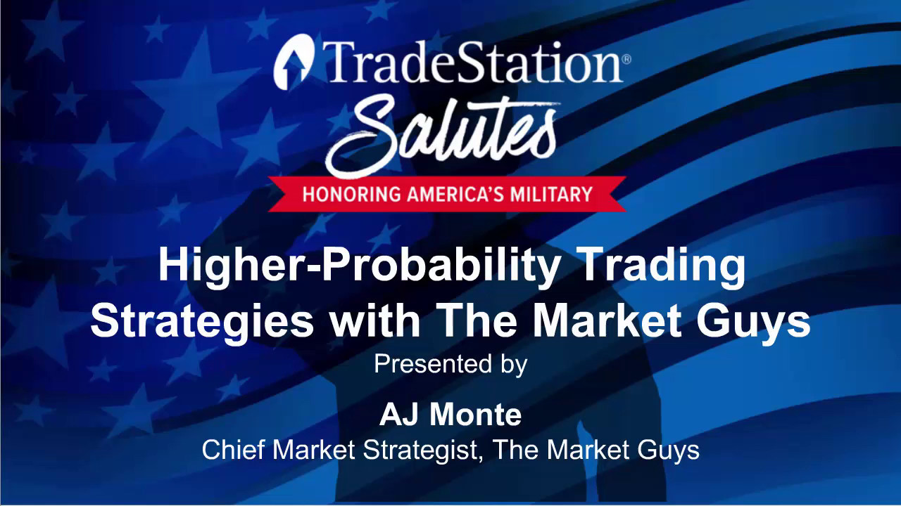 TradeStation Salutes - Trading Strategies with The Market Guys