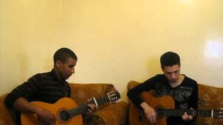 ya rayah guitar  houssam et younes