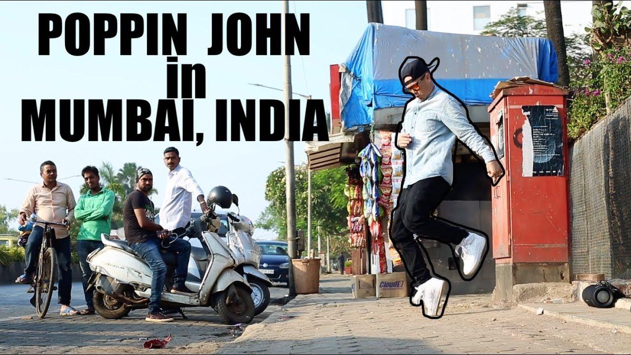 POPPIN JOHN | ROBOT MODE!!!| INDIA