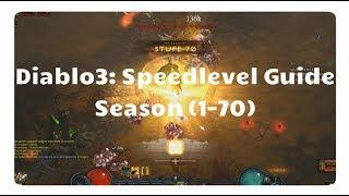 Diablo 3: Levelguide für die Season 11 (alle Klassen, XP, Patch 2.6)