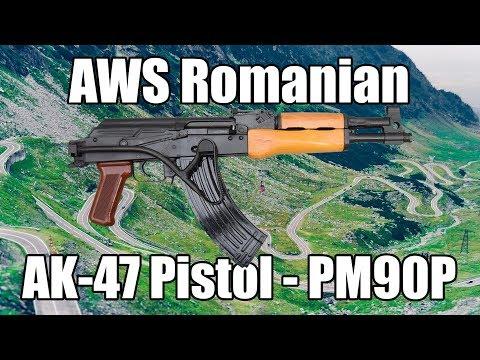 AWS Romanian AK-47 Pistol - PM90P