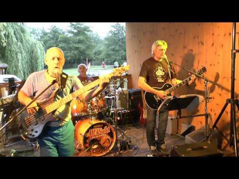 Kladenská kapela All Right Band v Úštěku,na jezeře Chmelař (8.7.2016)  SESTŘIH