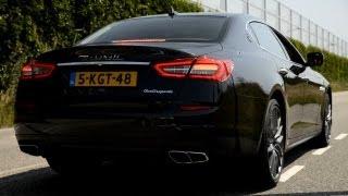 Maserati Quattroporte GTS V8 Biturbo Revving & Accelerating! - 1080p HD