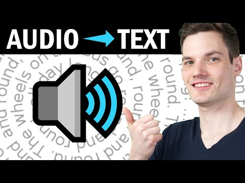 🔉 How to Convert Audio to Text - FREE & No Time Limits