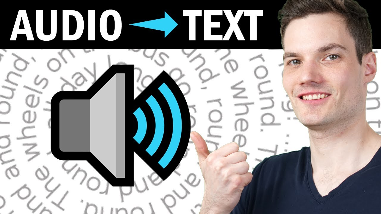? How to Convert Audio to Text - FREE & No Time Limits