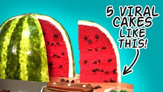 Top 5 Novelty Cakes That Went Viral | How To Cake It with Yolanda Gampp