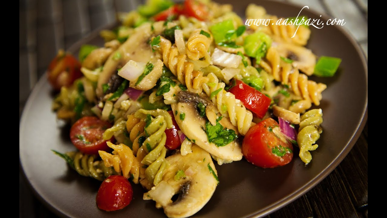 Rotini Salad (Rotini Pasta Salad) Recipe - YouTube