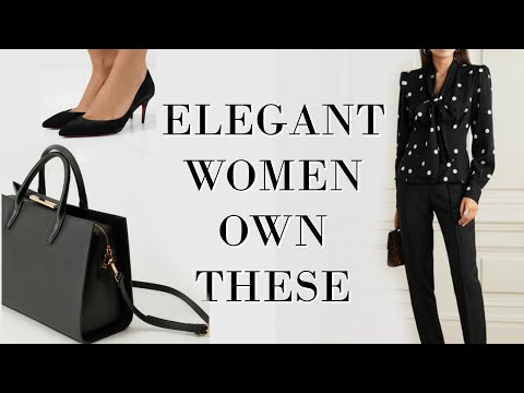 15 pieces every ELEGANT Woman owns | Fashion Over 40