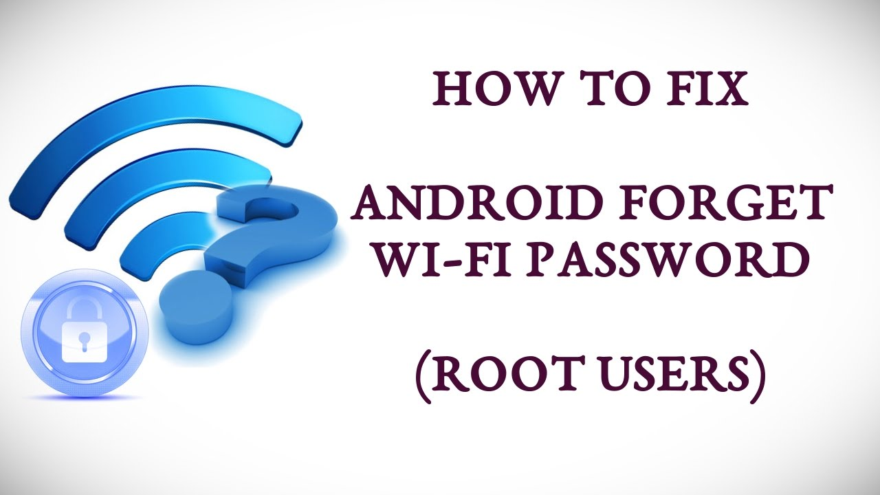 How To Fix Android Forget Wifi Password Youtube