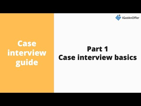 Case  basics  An duction to consulting s