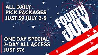 🇺🇲 2021 4th of July WagerTalk Promotion