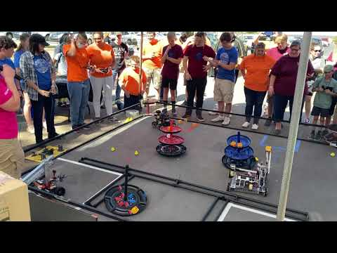 FTC Freight Frenzy Team 4155  - unofficial Oklahoma record 103 Pts