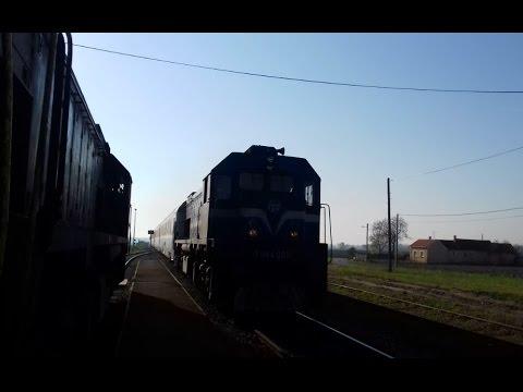 Hz Intercity Vlak 580 Podravka Osijek Zagreb Youtube
