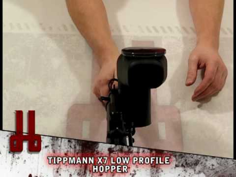 Comparison of Tippmann Cyclone Compatible Hoppers by HustlePaintball.com