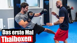Discopumper beim Thaiboxen!? Training bei Weltmeister Marinko Neimarevic
