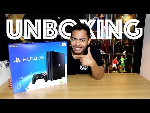 UNBOXING PS4 PRO INDONESIA | REZZONE