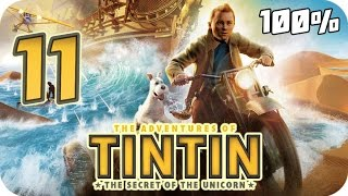 The Adventures of Tintin: The Game Walkthrough Part 11 (PS3, X360, Wii) 100% Movie Chapter 26 to 28