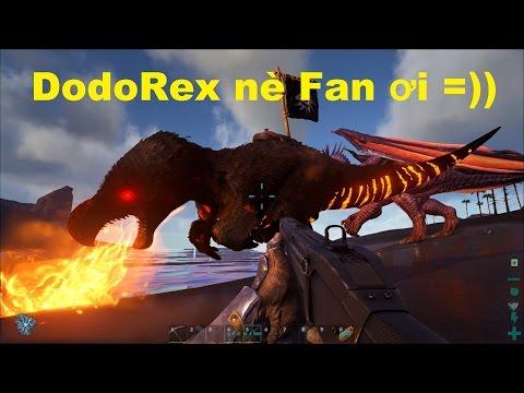 ARK: The Center #4 - Tìm thấy khủng long khổng lồ Giganotosaurus và DodoRex =))