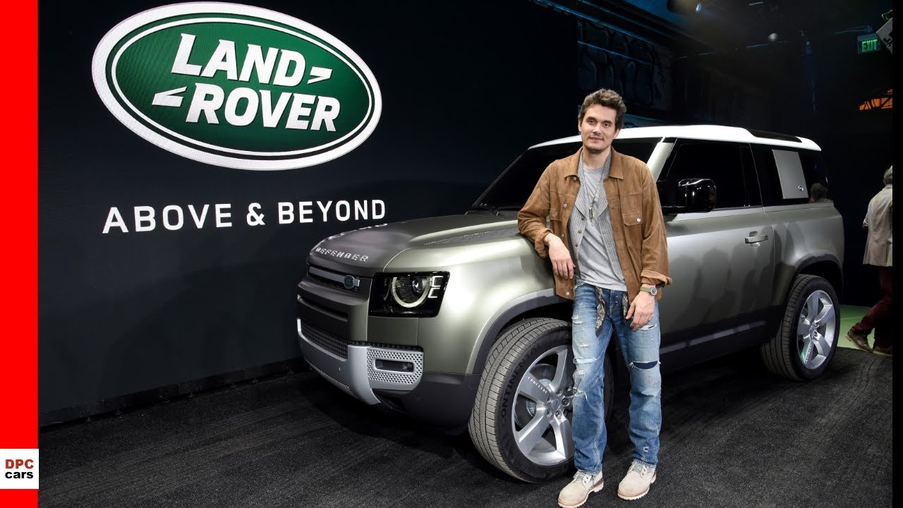 2020 Los Angeles Auto Show.New 2020 Land Rover Defender At Los Angeles Auto Show