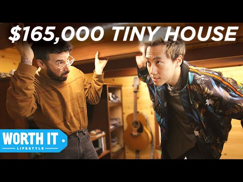 $50,000 Tiny House Vs. $165,000 Tiny House